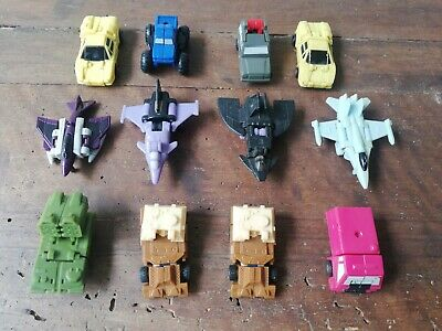 Lotto Transformers Micromasters Vintage anni 80