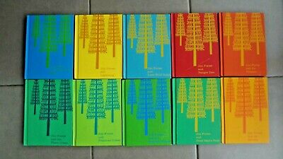 Vintage 1960's Jim Forest Series by Rambeau & Gullett--10 Books Hardcover