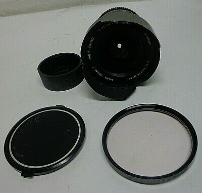 Sigma Zoom 21-35mm 1:3.5-4 Multi-Coated Lens For Contax Yashica SLR Camera