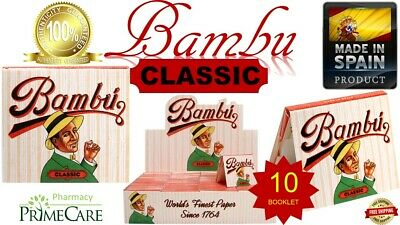 Authentic Bambu CLASSIC Regular World's Finest Rolling Paper 33 Leaves(SPAIN) 10