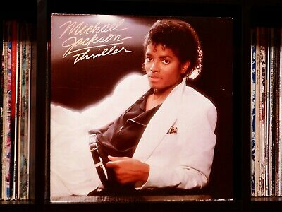 Michael Jackson ♫ Thriller ♫ Rare Near Mint 1982 Epic Original Vinyl LP w/Insert