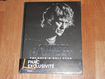Johnny Hallyday The Rock'n'roll Star Livre 192 Pages + Double Cd Neuf