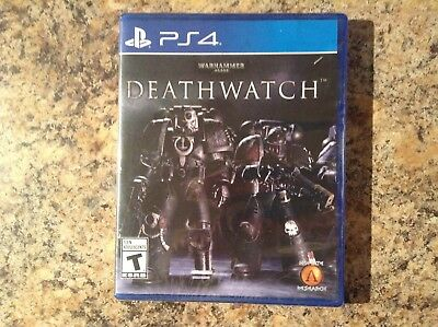 Warhammer 40,000: Deathwatch (PS4, 2017) Factory Sealed - Brand New