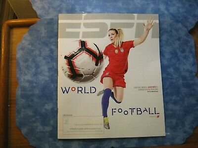 ESPN MAGAZINE June 2019 WORLD FOOTBALL Julie Ertz FUTURE OF U.S. WOMEN'S SOCCER
