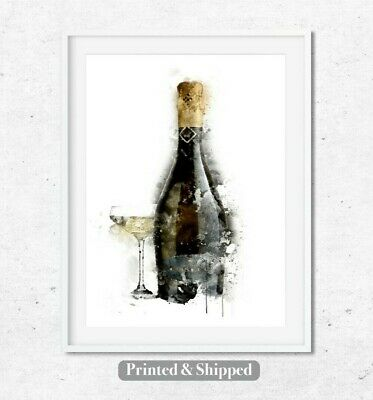 Rolled Canvas Poster A1 A2 A3 A4 A5 Personalised prosecco princess Pinup