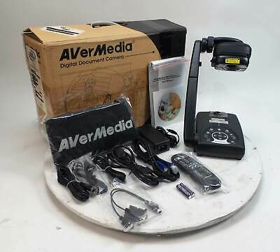 AverMedia AverVision 300AF+ POE3 Portable Document Camera Overhead Projector