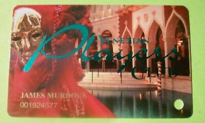 Venetian Hotel Casino Las Vegas, Nevada Slot Card Great For Any Collection!