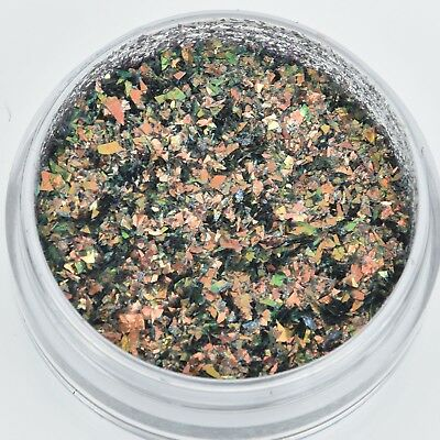 FIRE OPAL Glass Glitter Shards for Ice Resin by Ranger .25oz cft0103