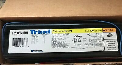 B260I120RH Universal Electronic Fluorescent T12 Ballast DISCONTINUED ~RARE~