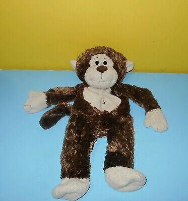"""BABW Build A Bear Workshop 18"""" Brown Marvelous Monkey Unstuffed Weighted Paws"""
