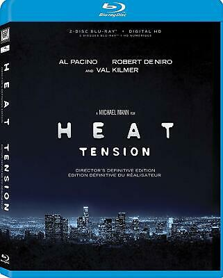 Heat Definitive Director's Cut Blu Ray-- Brand New- Pacino - De Niro!