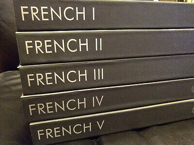 French Gold Pimsleur Approach Level 1 2 3 4 5 Gold Edition