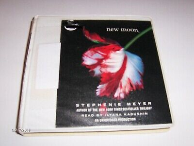 Audio Books on CD,  New  Moon by Stephanie Meyers