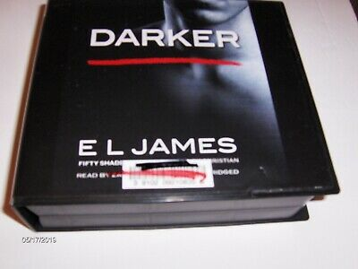 Audio Books on CD,  Darker by El James