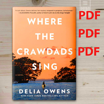 Where The Crawdads Sing by Delia Owens 2018 PDF B00K