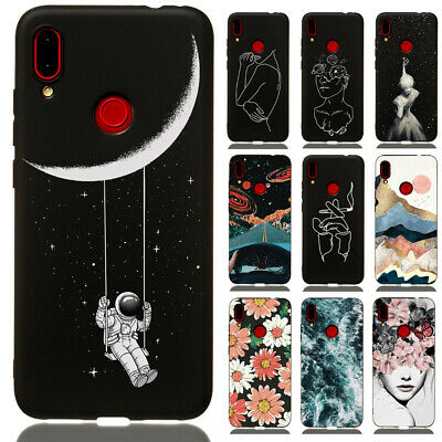 For Xiaomi Redmi 6 7 Note 8 7 6 5 Pro Slim Soft Silicone Painted TPU Case Cover