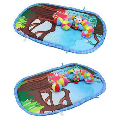 Soft Kids Children Rug Carpet Blanket Playmat Baby Game Play Crawling Mat JA