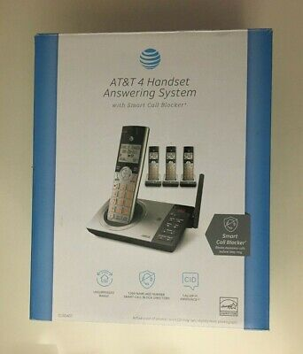 AT&T - CL82407 DECT 6.0 Expandable Cordless Phone System with Digital Answering