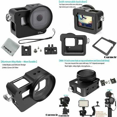 Gurmoir Case Aluminum Alloy Frame Housing For Gopro Hero 7 Black/Hero(2018) Acti