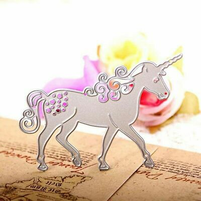 Unicorn Horse Metal Cutting Dies Mold Scrapbook Card Paper Embossing Style Chic
