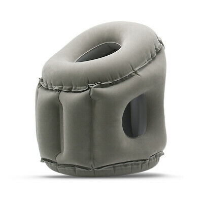 Travel Pillow Inflatable Pillows Air Soft Cushion Trip Portable Innovative X6A0
