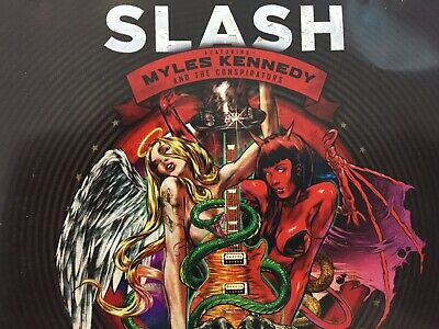 SLASH - Apocalyptic Love Deluxe CD 2012 Sony Bonus Tracks *Cover Damage*