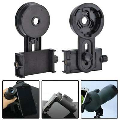 Cell Phone Holder Adapter Mount Binocular Monocular Spotting Scope Telescope asf