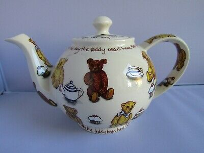 China & Dinnerware Vintage Cardew Design Tea Shop Teapot Signed Vgc Pottery & Glass