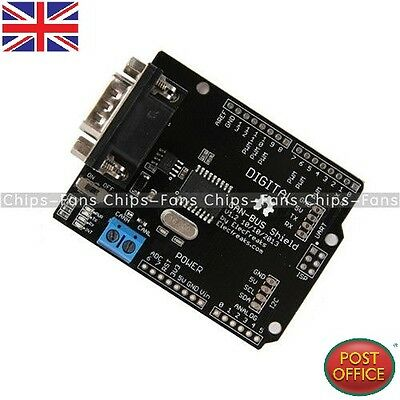 SPI MCP2515 EF02037 CAN BUS Shield Controller communication speed high Arduino F