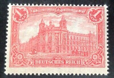 Germany 1902 1m Red Stamp Mint Hinged