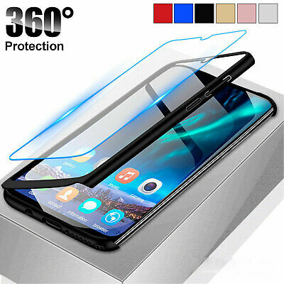 Samsung Galaxy A20e A70 A40 A50 A10 Luxury 360 Full Cover Phone Shockproof Case