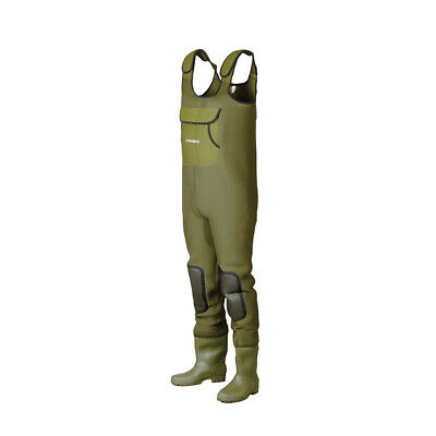 Dam ® Fighter Pro + Chest Neoprene Waders Fishing All Sizes Rrp £124.99