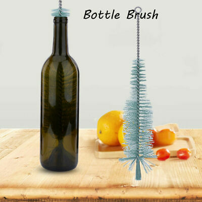 1pc Nylon Bottle Cleaning Brush Wine Beer Brew Tube Spout Kitchen Cleaner Tool