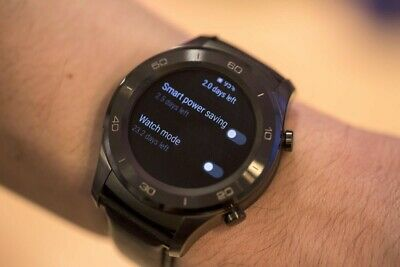 Huawei Watch 2 Classic with leather strap