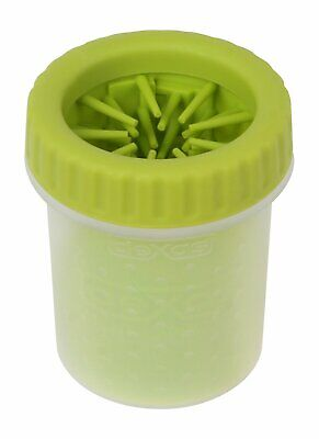 Dexas Petware Mudbuster Portable Dog Paw Cleaner Green Small 3.8 ounces