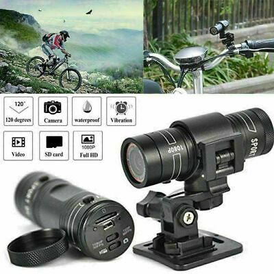 Full HD 1080P F9 Mini Bike Motorcycle Video Recorder Action Helmet Sports Camera