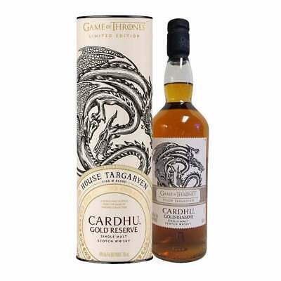 Cardhu Gold Reserve Game of Thrones Edition Single Malt Scotch Whisky 0,7l