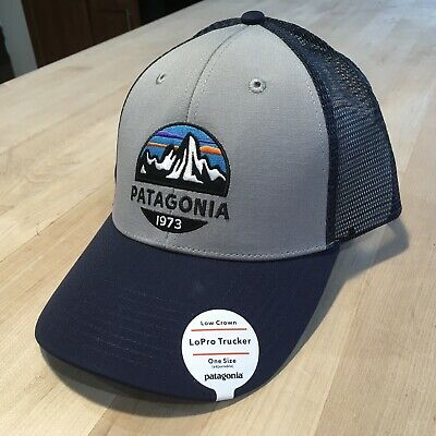 5d6991b9 Patagonia Fitz Roy Scope Trucker Hat - New With Tags - Drifter Grey - Sold  Out