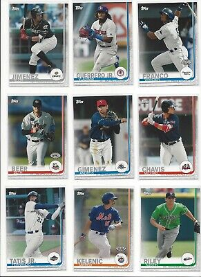 2019 Topps Pro Debut ( Draft Picks, Prospects, Minor League ) - U Pick!!