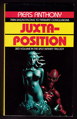 Juxtaposition, Piers Anthony, Good, Paperback