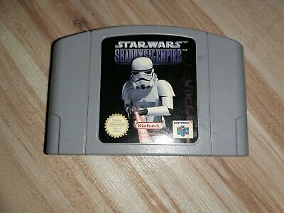 Star Wars Shadows Of The Empire Nintendo 64 N64 Pal Sehr Gut