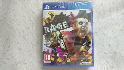 Rage 2 Steelbook Edition PS4 Brand New & Sealed