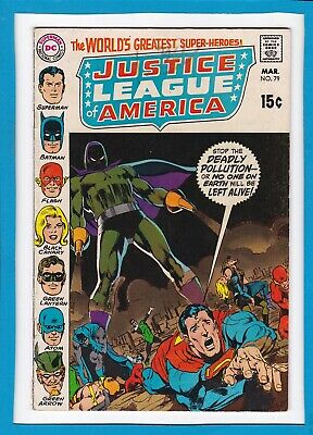 Justice League Of America #79_March 1970_Very Good+_Batman_Flash_Superman!