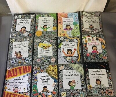 Lot Of 12 Amelia's Notebook Books By Marissa Moss! American Girl Set