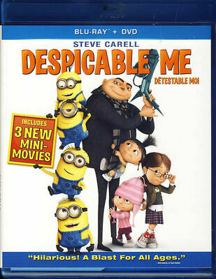 Despicable Me  (Blu-ray Dvd And Digital Disc) Bilingual free shipping In Canada