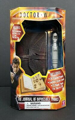 Doctor Who The Journal of Impossible Things - Sonic Screwdriver