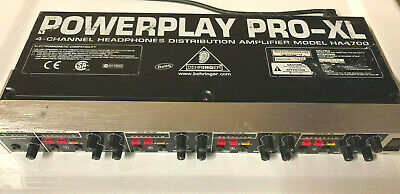 Behringer Powerplay Pro-XL HA4700 4-channel Headphone Amplifier