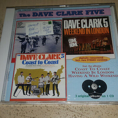 The Dave Clark Five - Complete History Volume Two  1994  Cd