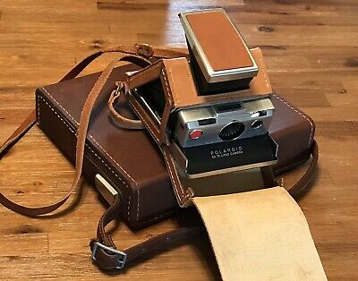 Polaroid SX-70 Land Camera Folding Carry Case & Big Case