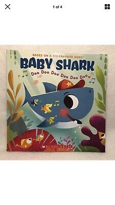 2018 Baby Shark Sing A Long Soft Cover Book